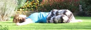 Yin pose: spinal twist