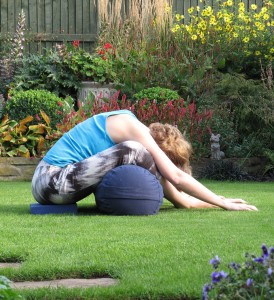 Natalie's favourite yin pose: Butterfly - forward bend, hip opener