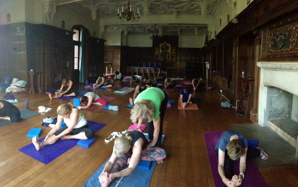 Yin and ashtanga yoga retreat
