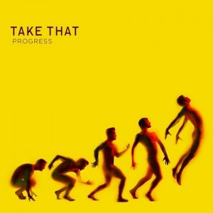 We haven't had a mention of Take That for a while! They named their 2010 album 'Progress' and featured Robbie Williams - a first since his departure in 1995.